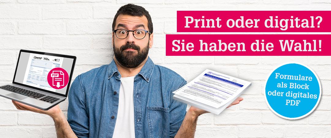 Digitale-Print-Formulare